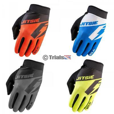 Jitsie G2 SOLID Adult Trials Riding Glove - Available in 4 Colours