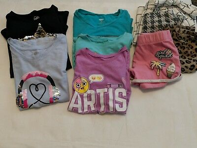 Girls 9 Piece Clothing Lot 6-8 Sizes