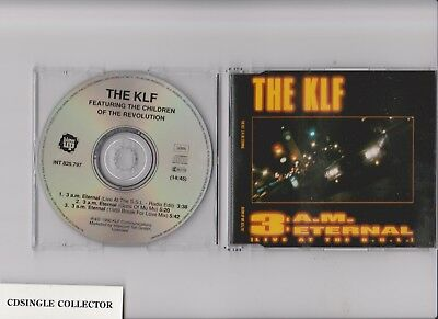 The Klf - 3 Am Eternal (Live At The S S L) 3 Tr German Rare