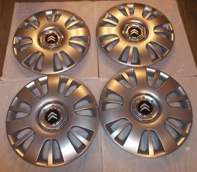 4 X New Citroen Xsara Picasso Wheel Trims 16