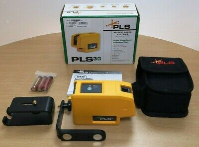 Pacific Laser Systems - PLS3 - Green - Self-Leveling Dot Point Laser - UK Seller