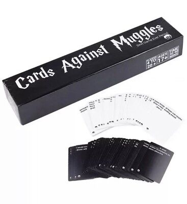 Huge Sealed Cards Against Muggles 1440 Cards Harry Potter Limited Edition New U