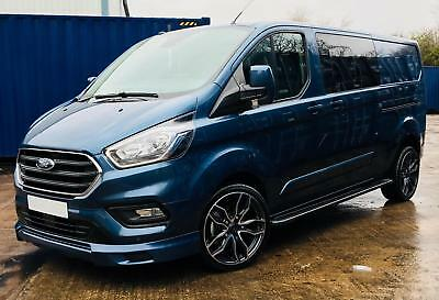 513bf088370734 Ford Transit Custom 320 130ps Limited L2 Lwb DCIV Double Cab in Van Crew Q  Sport