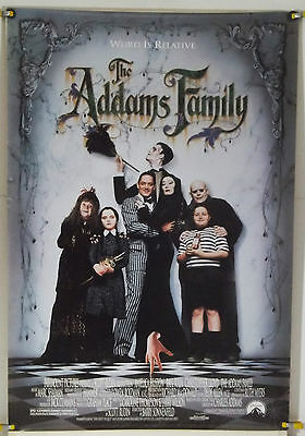 The Addams Family Rolled Orig 1Sh Movie Poster Christina Ricci (1991)