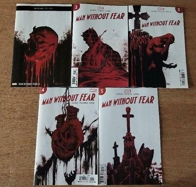Man Without Fear 2019 #1-5 1 2 3 4 5 Complete Set NM/Mint Daredevil Mini Series