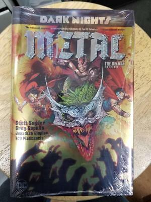 Batman Dark Nights Metal Oversized Hardcover Sealed New Dc Comics Foil Cover