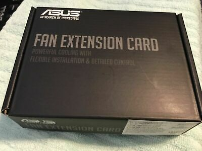Asus Fan Extension Card  Complete Set  ,Original Part