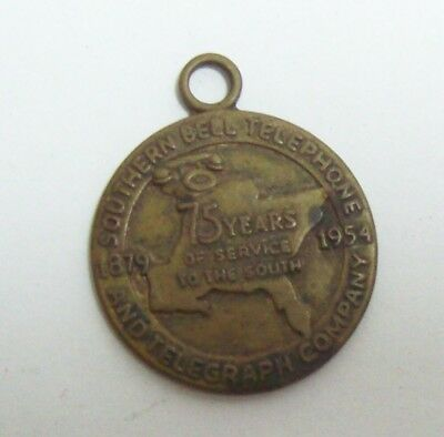 Vintage 1954 SOUTHERN BELL TELEPHONE & TELEGRAPH Co Medal