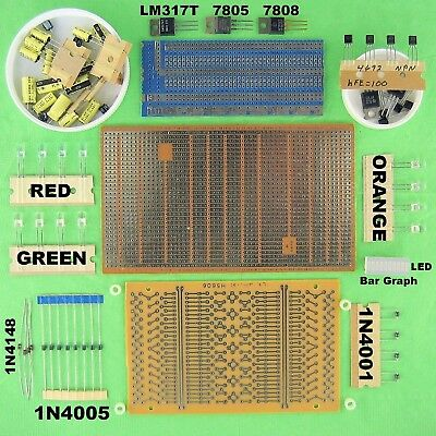 Protoboard PCB Prototyping DIP IC Circuit Boards Pre Drilled Through Hole Solder