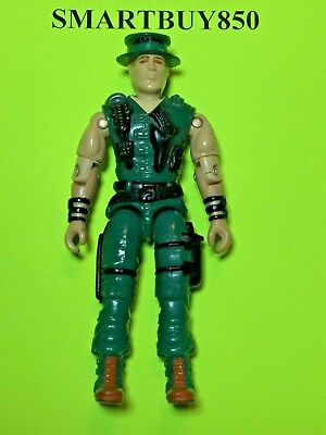 GI Joe Muskrat Vintage Action Figure presque complet C9 v1 1988