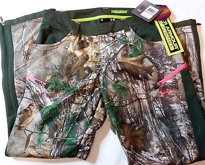 e075a385ac8da $180 Under Armour Scent Control Speed Freak Camo Pants Womens Sz 8 1247080- 946