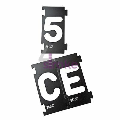 """Interlock Signmakers Templates Secure Patterns With Plunge Router 86mm (3-3/8"""")"""