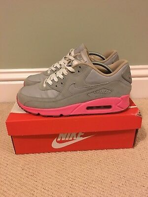 483736943e4 NIKE AIR MAX 90 DQM BACON Size 12 SAIL SHEEN STRAW MED BROWN 310766 ...