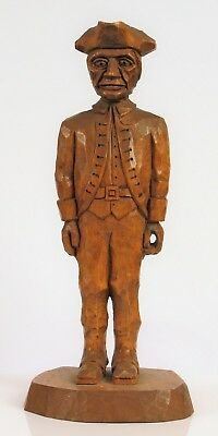 Minute Men Carved Patriot Our American Heritage Charles Hart Revolutionary War !