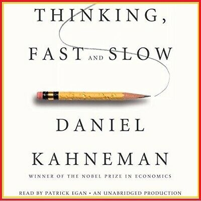 Thinking, Fast and Slow by Daniel Kahneman (audio book, Download)
