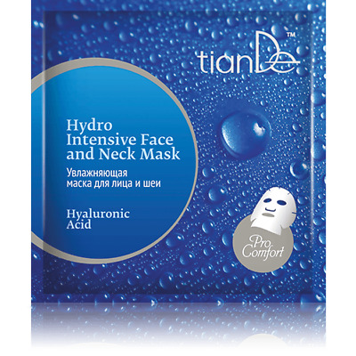 TianDe Hyaluronic Acid Hydro Intensive Face and Neck Mask 52901