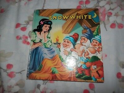 Snowwhite Snow White Children's Story Clifford Series Circa 1940's or 1950's Har