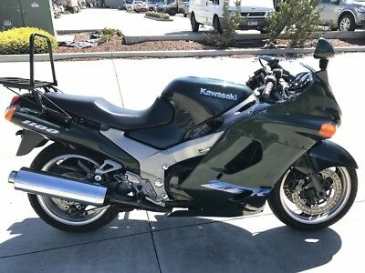 Kawasaki Zzr 1100 Zzr1100 06/1996Mdl 62559Kms Clear Title  Project Make An Offer