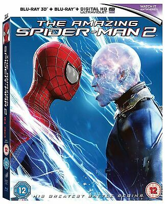 The Amazing Spider-Man 2 Blu-ray 3D + Blu-ray 2014 Mastered in 4K *NEW/SEALED*