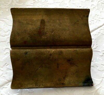 Vintage Large Solid Brass Draw Pull
