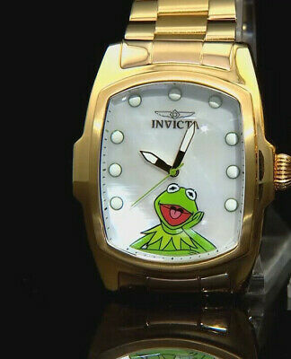Invicta Grand Lupah Muppets Limitierte Auflage Quarz Ss Link Armband Feat: