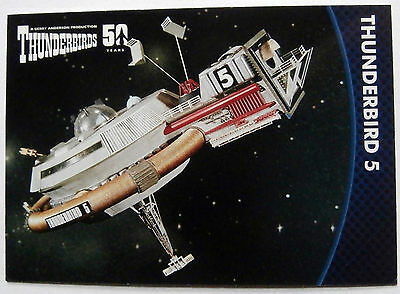 THUNDERBIRDS 50 YEARS - Card #42 - Gerry Anderson - Unstoppable Cards Ltd 2015