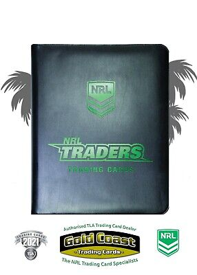 2019 Nrl Traders Official Album With Full Base Set - 160 Common Cards