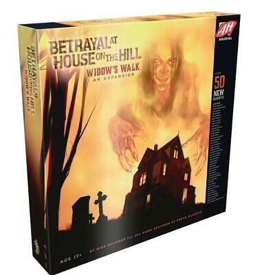 Betrayal at House on the Hill  Widow's Walk Board Game Expansion  4 age 12+