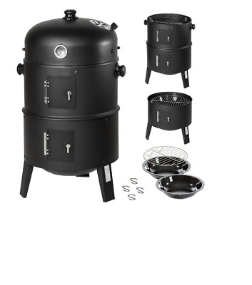 Barbecue Garden - Smoker Meat and Fish Grill Lid Smoker Thermometer