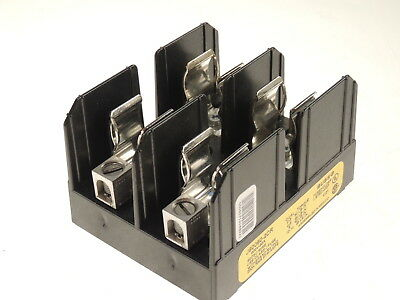 NEW Cooper Bussmann 600V 60A 2 Pole 2P Wire Fuseholder Fuse Block J60060-2CR