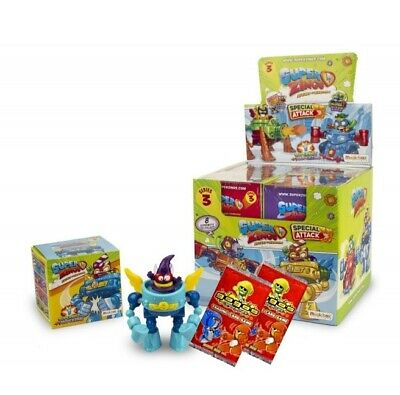 10x superzings Series 5 plus 2 Gogo cartes 10 superzing Figure Packs fourni