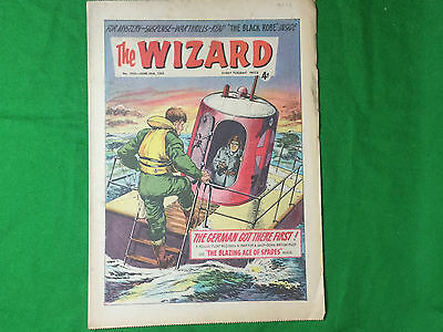The Wizard boy's comic June 29th 1963 Fireball XL5 / Zoom iced lolly advert