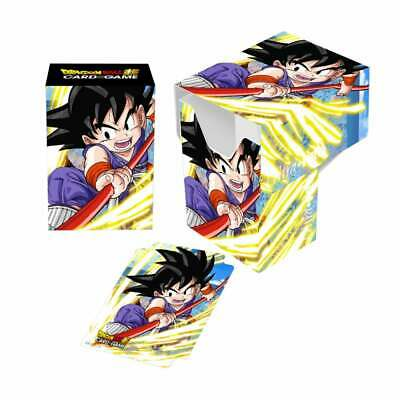 Dragon Ball Super Card Game Deck Box By Ultra Pro - Explosive Spirit Son Goku