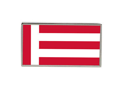 Groningen Netherlands Flag Lapel Pin Badge