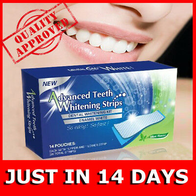 Teeth Whitening Strips Mint Flavor