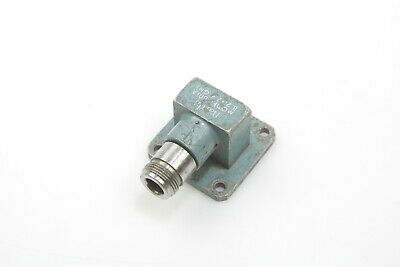Narda Waveguide to N Type Female Adapter WR90 8.2 to 12.4 Ghz