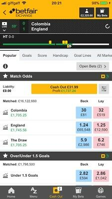 Football Betting System Betfair Exchange Professional Gambler