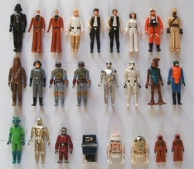 Vintage Star Wars Incomplete A New Hope Action Figures - Choose Your Own