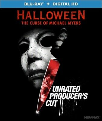 Halloween 6: The Curse of Michael Myers (Producers Cut, Unrated) BLU-RAY NEW