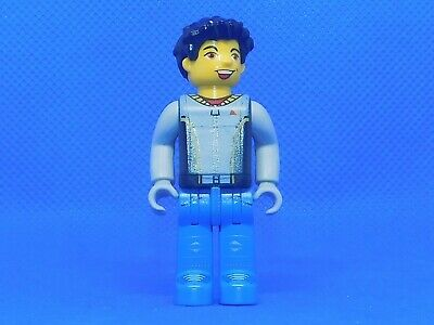 LEGO Jack Stone Juniors Minifigures vintage Crewman with Dark Turquoise