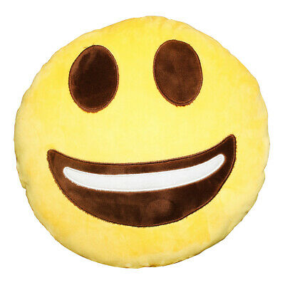 32cm Emoji Pillow Smiley Emotion Cushion Stuffed Soft Toy Doll Gift Home Decor