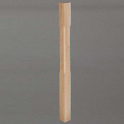 Clear Oiled Oak Stair Newel Post - 90mm Posts - Lengths from 1500mm to 3600mm