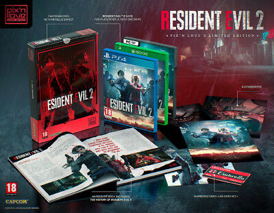 Resident Evil 2 Remake PIx'N'Love Collector Premium Edition Xbox One EN STOCK !