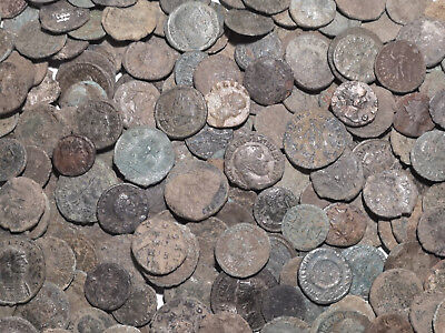 50 TOP Quality Uncleaned Roman coins