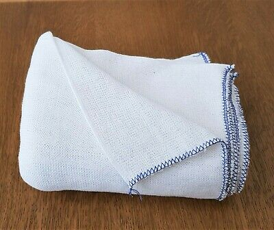 Extra Large Dish Cloths Cleaning Kitchen Drying Double Layer Pack Of 10 Cotton
