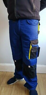 POWERFIX Professional Work Trousers With Knee Pad Cordura Lightweight