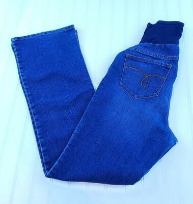 MOTHERHOOD Maternity Jeans Womens Size M Blue Flare