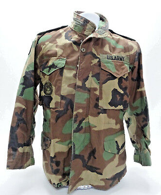 VIINTAGE VIETNAM ERA COLD WEATHER FIELD COAT W/PATCHES in  SMALL-SHORT in  EUC