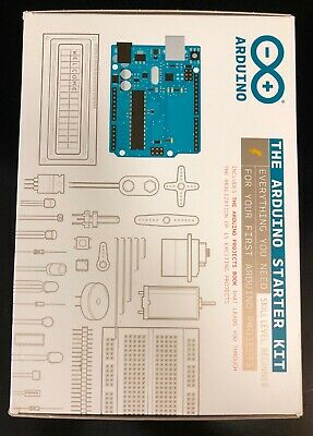 Arduino Starter Kit w/ 170p Arduino Projects Book & Components