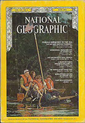 VINTAGE NATIONAL GEOGRAPHIC MAGAZINE 1972 JUNE EDITION VOL. 141 No 6